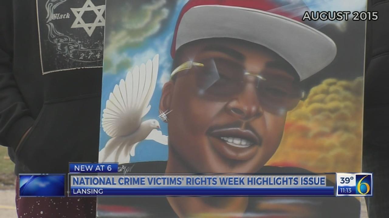 Crime victims week