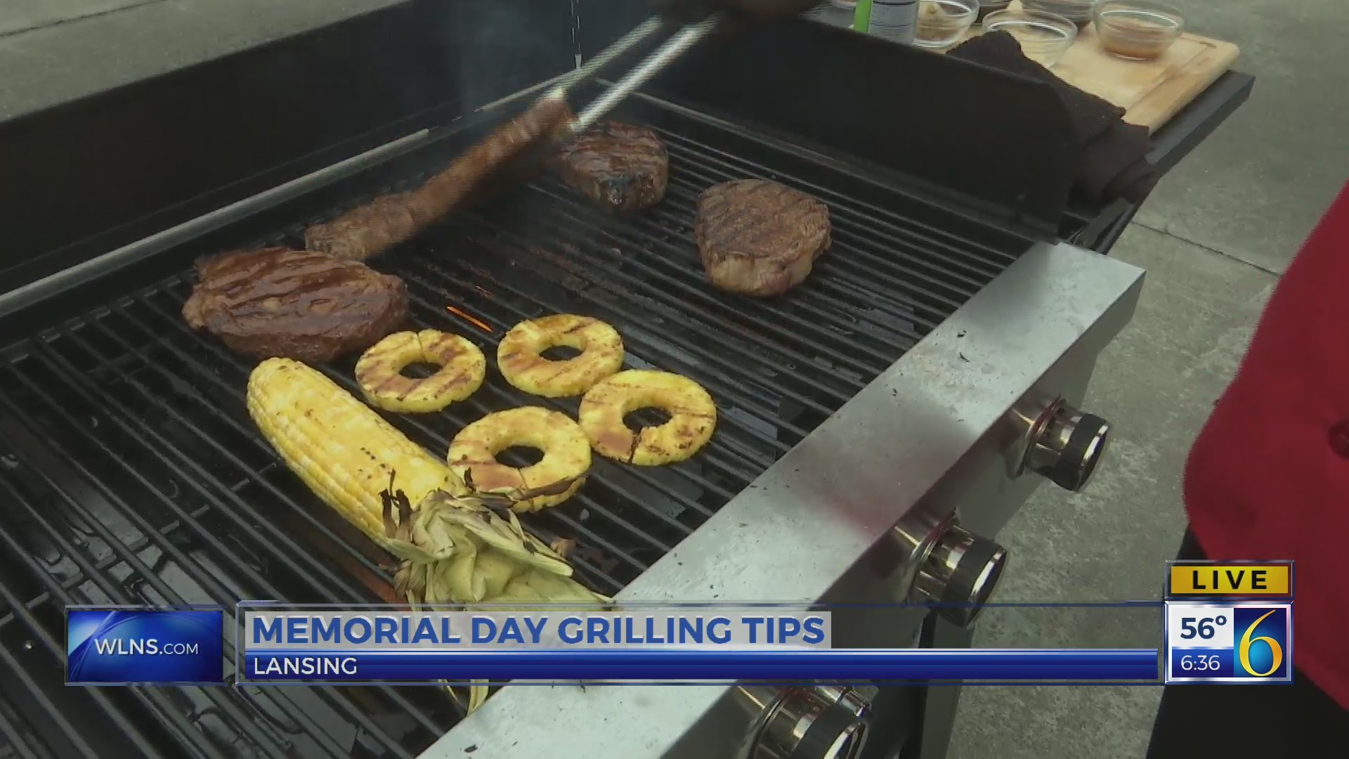 This Morning: Grilling live 2