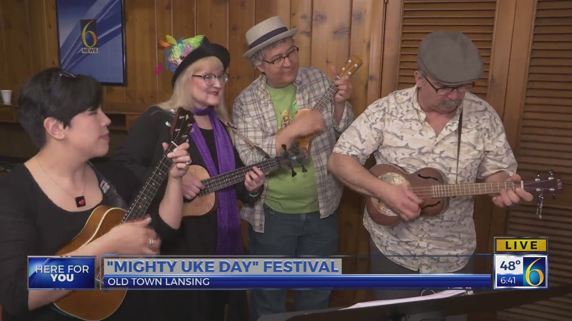 This Morning: Mighty Uke Day