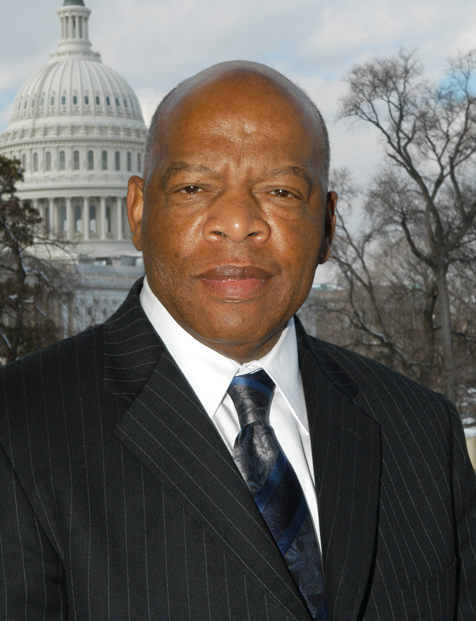U S Representative Civil Rights Activist John Lewis To
