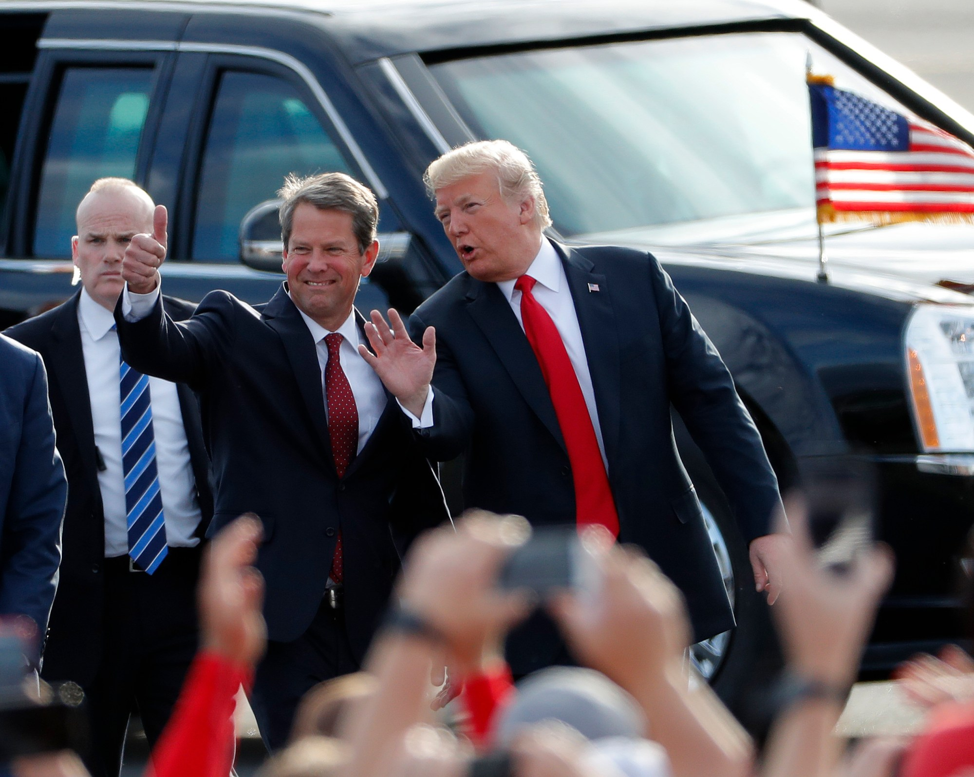 2018 Top Stories Georgia, Brian Kemp, Donald Trump