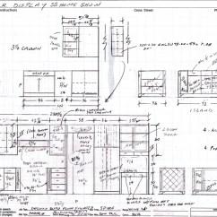 Kitchen Cabinet Plans Marble Top Island Elevations Dwg Joy Studio Design Gallery Best