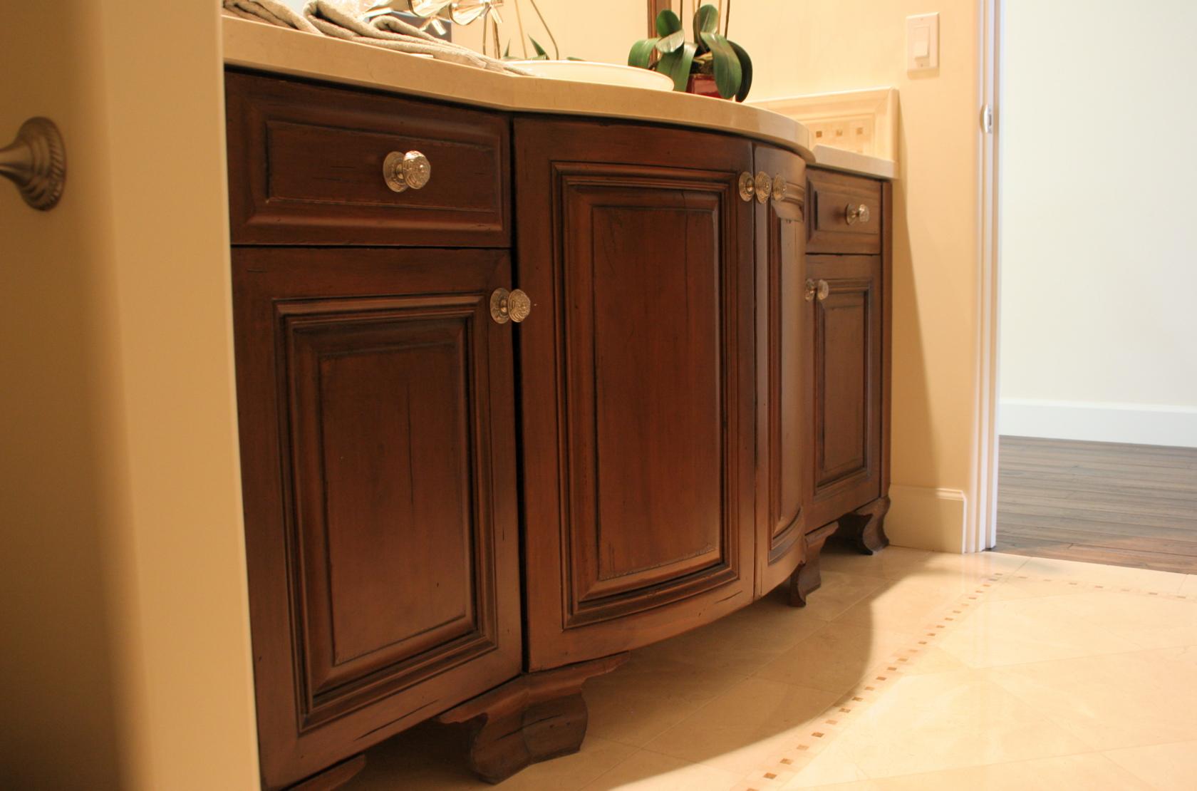 kitchen cabinets with legs kitchens espresso 25 cool bathroom vanities no eyagci