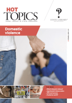 Cover of Hot Topics 87: Domestic Violence