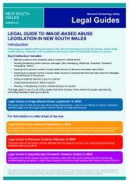 Legal Guide to Image-Based Abuse