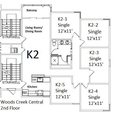 Woods Creek Apartments : Washington and Lee University