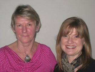 Judy Bates, President, and Sheila McKee-Protopapas, Executive Director