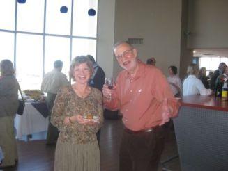 Sheila McKee-Protopapas, WLUFA Executive Director, and Marc Kilgour