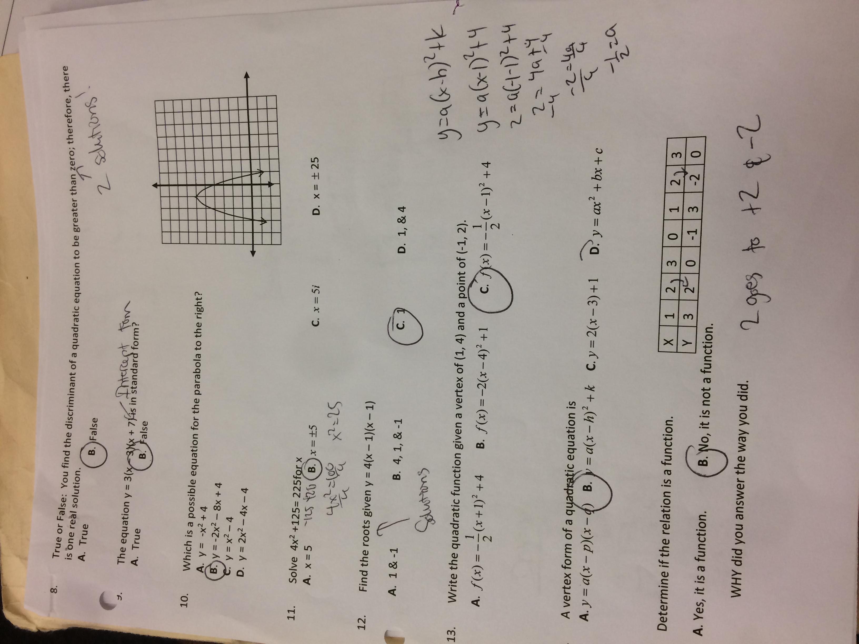 Ewbank Kenny Advanced Algebra Calendar