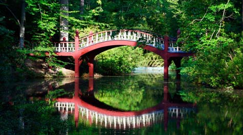 The Crim Dell Bridge
