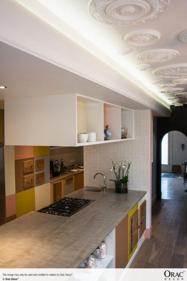 lighting ideas for living room high ceiling simple and elegant false designs c371 'shade' uplighting cornice - wm boyle interior finishes