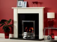 Wooden Fire Surrounds - Oak & Painted White Fireplace ...