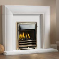 Asquith Limestone Fireplace - Wm Boyle Interior Finishes