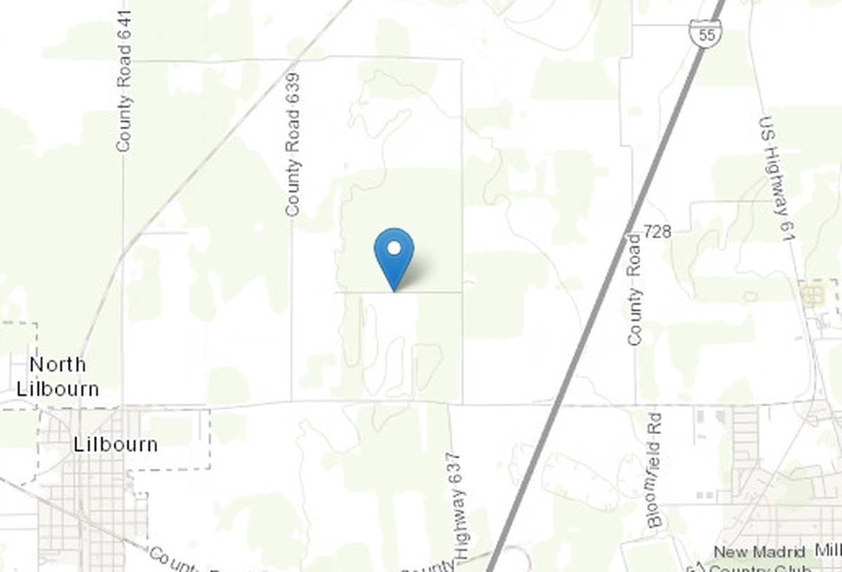 Report: 2.3 earthquake reported in New Madrid County