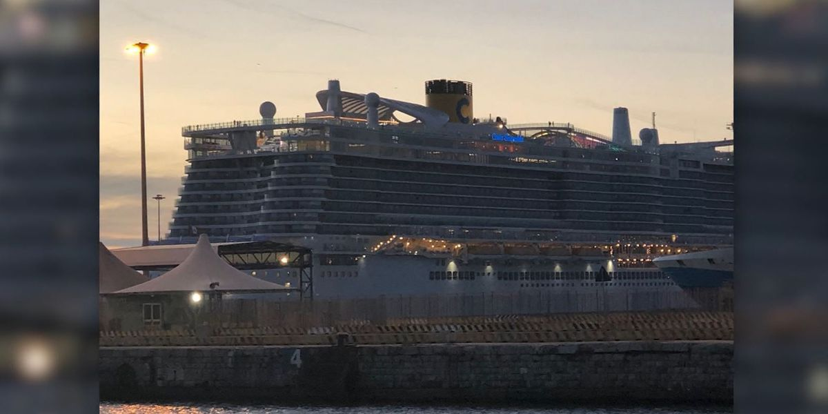 Around 7,000 people held on cruise ship at Italian port over ...