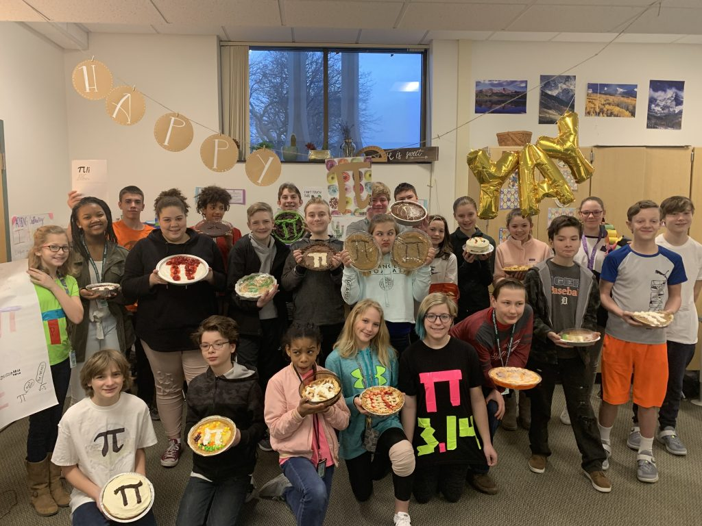 Pi Day 3 14 At Western Michigan Christian