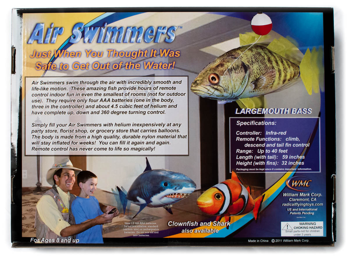 air swimmers by william