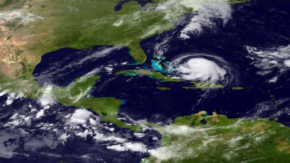 Hurricane Joaquin is expected to bring heavy rain and flooding along the Atlantic coast. Photo: The Weather Channel.
