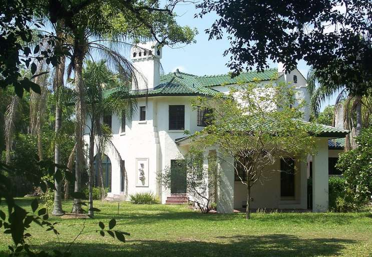 The Thomas Picton Warlow, Sr. House is one of several historic sites in Winter Park. Photo: Wikimedia Commons.