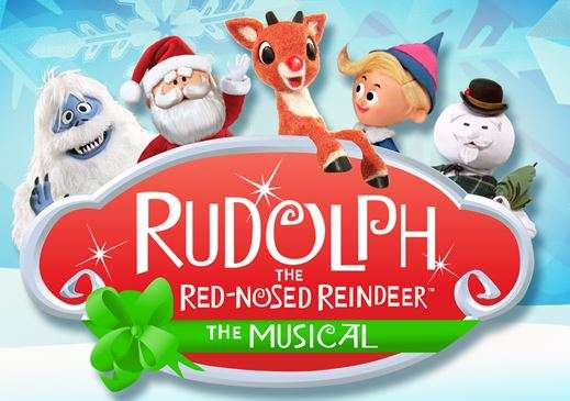 Rudolph the Red Nosed Reindeer runs at the Orlando Repertory Theater through December 27th.