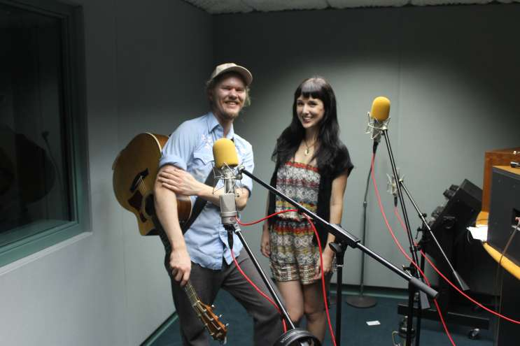 Ben Browne and Mariah Lynn are Mo'Mo Browne. Photo: Matthew Peddie. WMFE