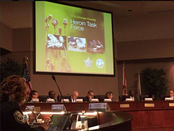The Orange County Heroin Task Force was created in 2015 to tackle the growing epidemic. Photo: WMFE.