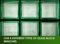 Our 4 Different Types of Glass Block Windows
