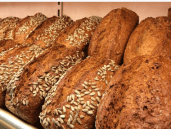 grains and bread