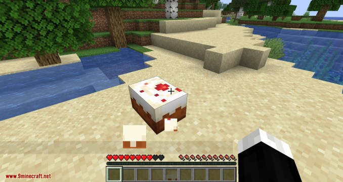 Cake Chomps mod for minecraft 07