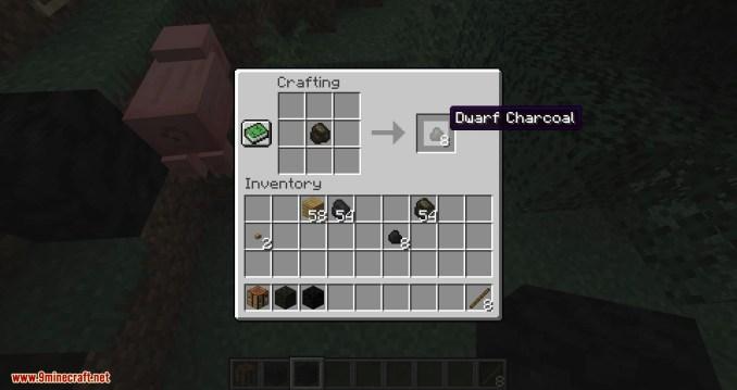 Dwarf Coal mod for minecraft 04