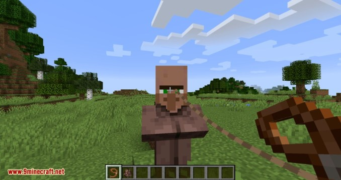 Lead Villagers mod for minecraft 03