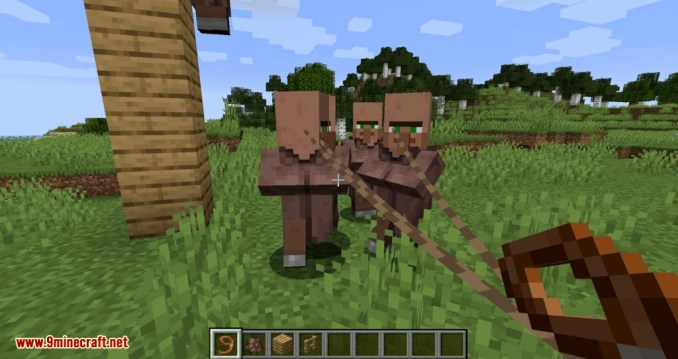 Lead Villagers mod for minecraft 06