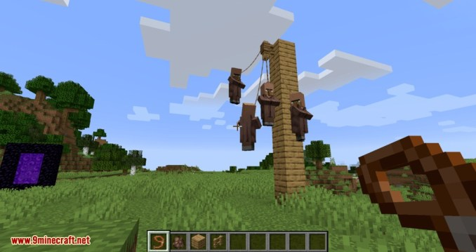 Lead Villagers mod for minecraft 07