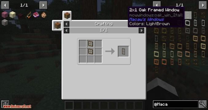 Macaw_s Windows mod for minecraft 05
