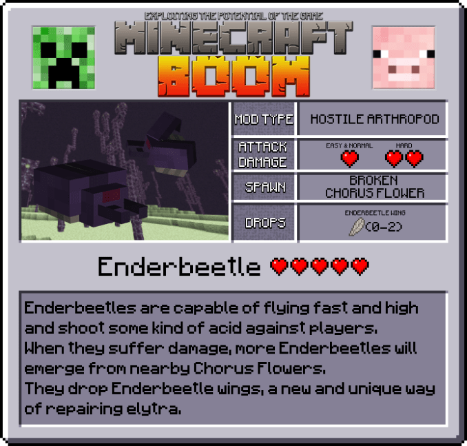 Minecraft Boom Mod Features 3