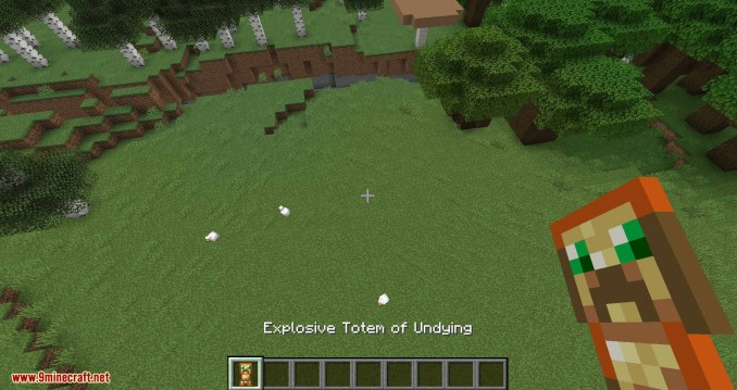 More Totems of Undying mod for minecraft 05