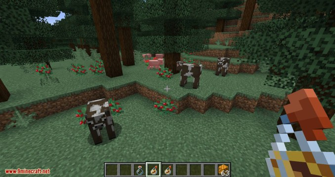 Potion of Bees mod for minecraft 10