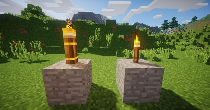 Torchmaster mod for Minecraft (2)