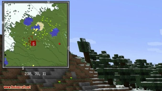 Xaero's Minimap Mod Screenshots 1