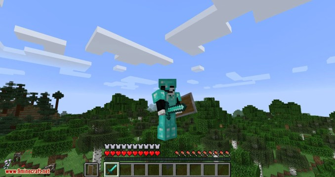 Angel Ring mod for minecraft 09