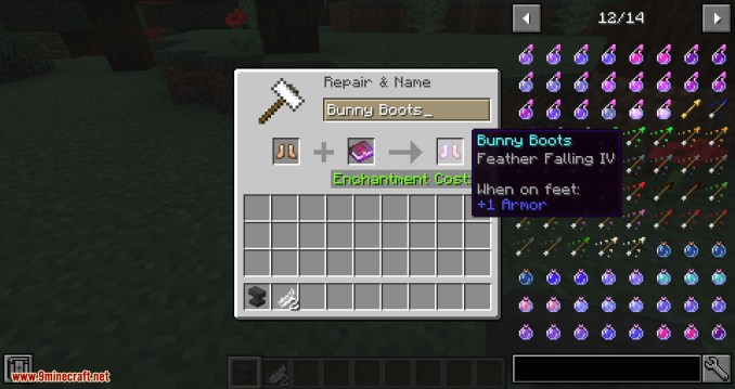 Bunny Boots mod for minecraft 07