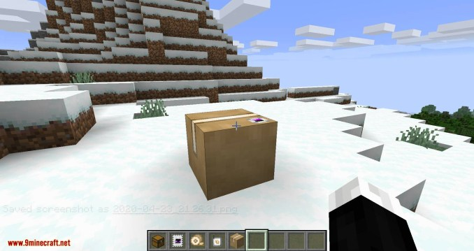 Ender Mail mod for minecraft 07