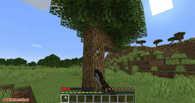 Falling Tree mod for minecraft 02