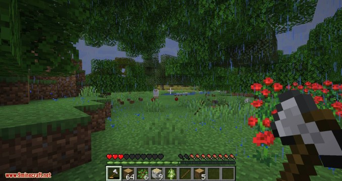 Falling Tree mod for minecraft 11