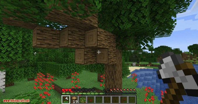 Falling Tree mod for minecraft 08