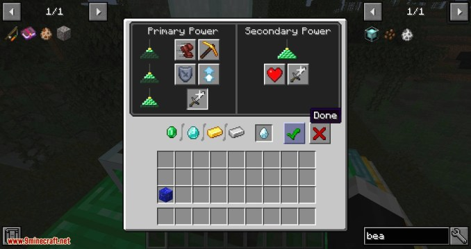 Just Enough Beacons mod for minecraft 09