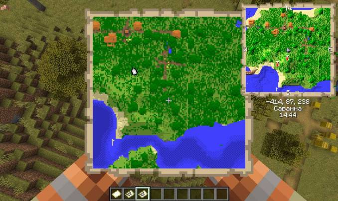 Just Map mod for minecraft 27