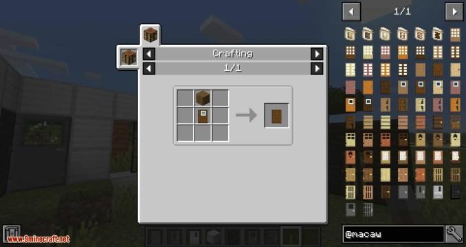 Macaw_s Doors mod for minecraft 15
