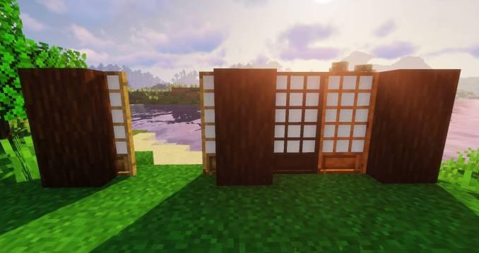 Macaw_s Doors mod for minecraft 21