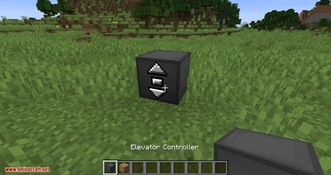 Moving Elevators mod for minecraft 01